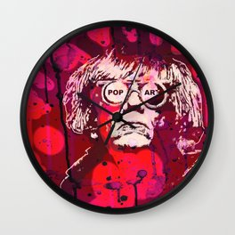 Pop-Art KING - Quote Wall Clock