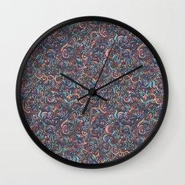 Vio Blue Veg Wall Clock