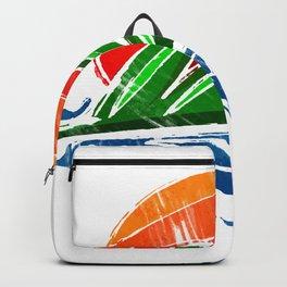 Sunrise Palm Backpack