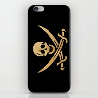 pirate iPhone & iPod Skins featuring Pirate by NicoWriter