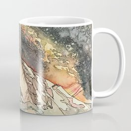 Mount Sopris and the Galaxy Coffee Mug