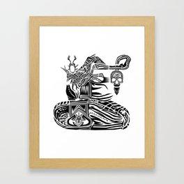 Operation MindFuck Framed Art Print