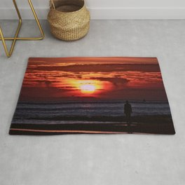As the Sun goes down Rug