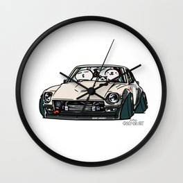 Crazy Car Art 0155 Wall Clock