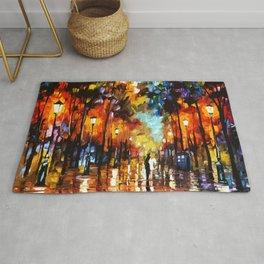Tardis Art And The Couple Starry Night Rug