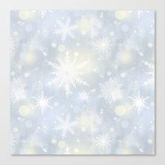 Snowflakes. Canvas Print