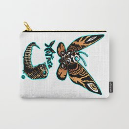 Mothra Kaiju Print FC Carry-All Pouch