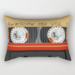 Awesome Mix Cassette Vol.1 Rectangular Pillow