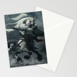 White Centaur Stationery Cards