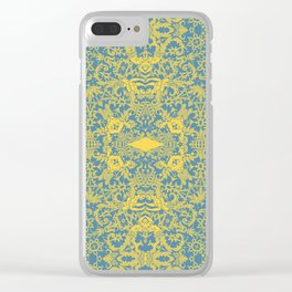 Lace Variation 10 Clear iPhone Case