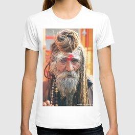 Baba, Rishikesh, India T-shirt