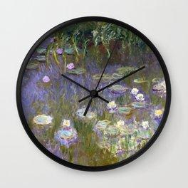 Water Lilies - Monet Wall Clock