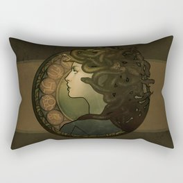 Medusa Nouveau Rectangular Pillow