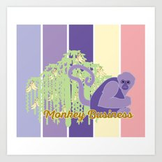 Monkey Business 2.0 Art Print