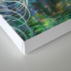 Dopamine Jungle Canvas Print