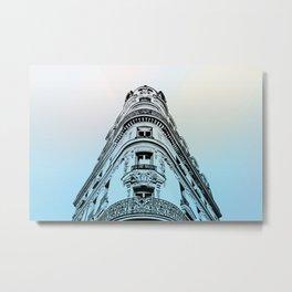 Haussmannian Building in Paris I Metal Print