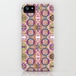 0306 All-in-pattern light iPhone Case