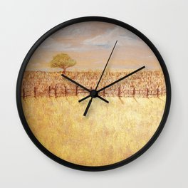 Mindscape Series Three, Painting Four, Redding C.A Wall Clock