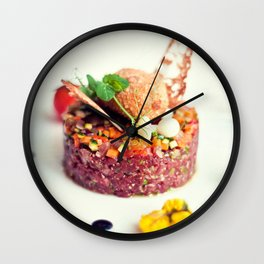 Beef Tartar Wall Clock
