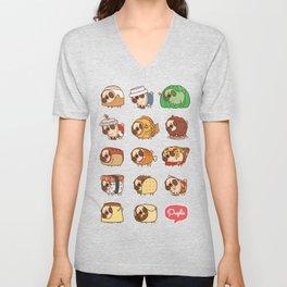 Puglie Food Collection 1 Unisex V-Neck