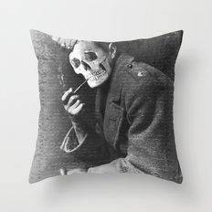 CONSCRIPT Throw Pillow