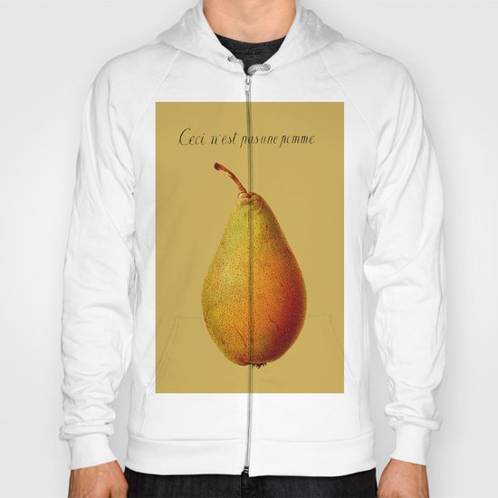Ceci n'est pas une pomme  Hoody