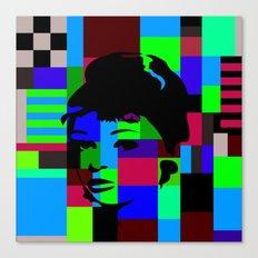 Pop Art Movie Star No. 2 Canvas Print