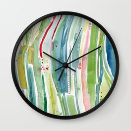Something Happened in the Kelp Forest Wall Clock