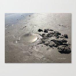 Wet Treasure Canvas Print