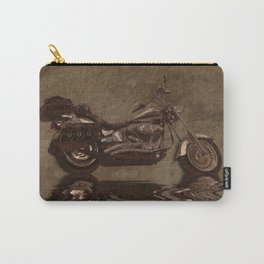 The Big HD - Rustic Grunge Art Print Carry-All Pouch
