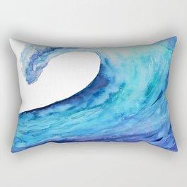 Ocean tsunami wave Rectangular Pillow