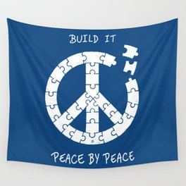 Peace By Peace Wall Tapestry