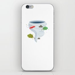 Awesome Tornado Storm Chasers & Severe Weather iPhone Skin