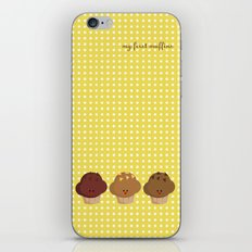 my first muffins iPhone & iPod Skin