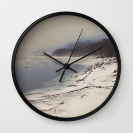 Coastal Fog Wall Clock