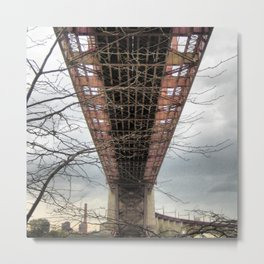 UNDER HELLS GATE NYC  Metal Print