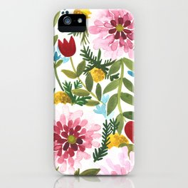 Spring Floral iPhone Case
