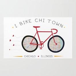 Chicago, Illinois by I Bike Rug