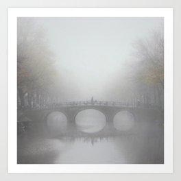 Translucent Amsterdam Art Print