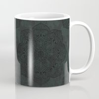 islam Mugs featuring Vintage Mandala by Mantra Mandala