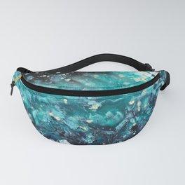 Turquoise Ocean Dancer Fanny Pack