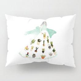 Plant Dress Pillow Sham
