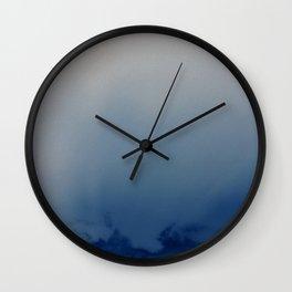 Minnehaha Blue Wall Clock