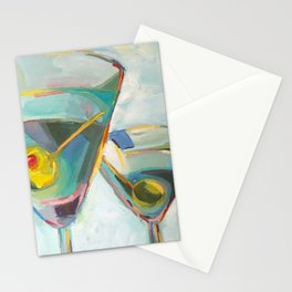 Martinis Stationery Cards
