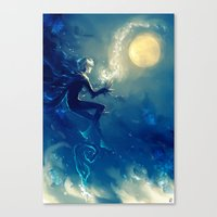 jack frost Canvas Prints featuring Jack Frost by AkiMao