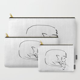 Relaxing Cat Carry-All Pouch