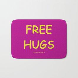 Free Hugs While Stocks Last Bath Mat