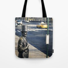 Abe's Bus Stop Tote Bag
