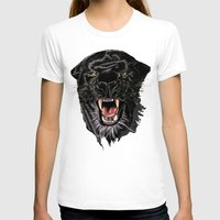 panther T-shirts featuring Panther by Tish