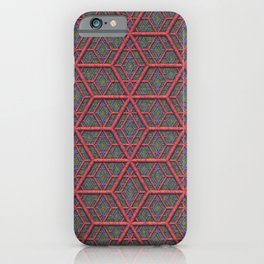 Gridlines iPhone Case